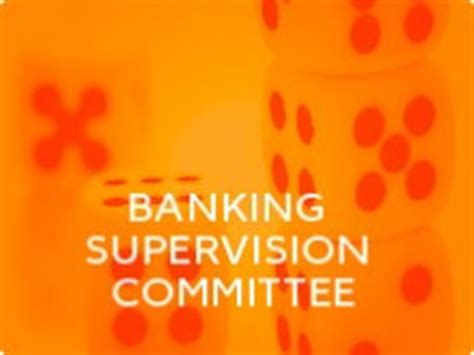 what is bank supervision committees ebf fbe