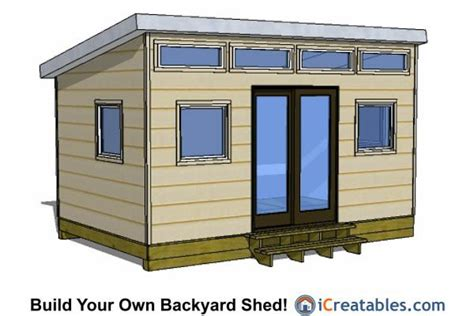 modern shed  door  center shed design