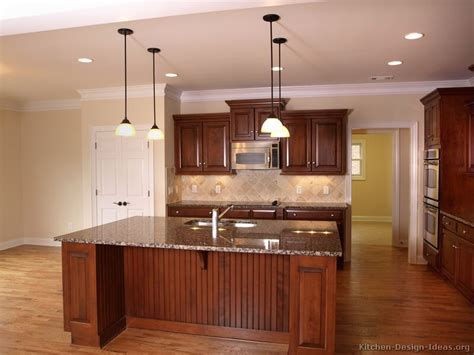 kitchen color ideas with cherry cabinets pictures kitchens modern medium wood kitchen cabinets