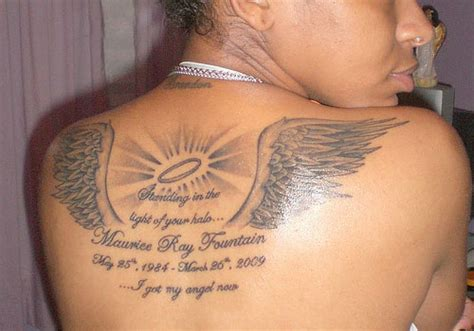 these tattoos are dedicated in loving memory to our lost