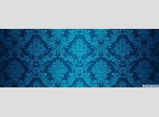 bright blue floral pattern Facebook Cover timeline photo ... Graffiti Wallpaper Love Rainbow