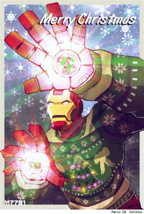 fashion  action merry marvel  happy   super christmas art