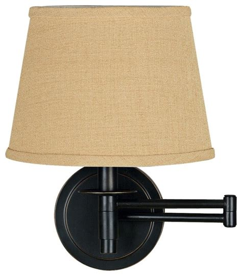 swing arm wall sconce plug in traditional kenroy sheppard oil rubbed bronze plug in