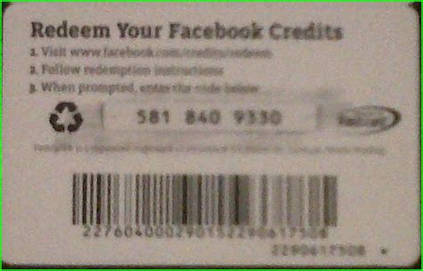Redeem Gift Card Facebook - purchase facebook credits gift card dominos new smyrna