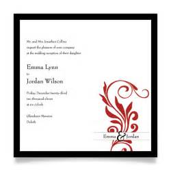 wedding ceremony invitation wording ceremony reception latertruly engaging wedding