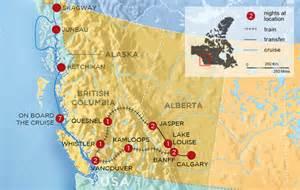 west coast of canada map map canada west coast images