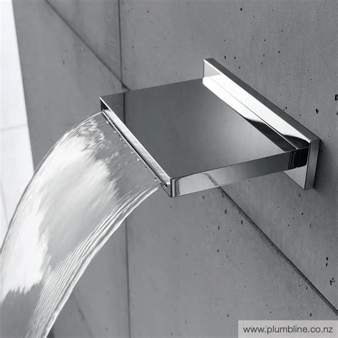 waterfall bathtub spout cascade 4 waterfall spout bath spouts bath spouts