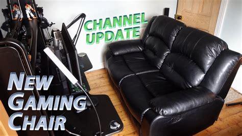 recliner gaming setup gaming editing setup overhaul 187 hello recliner sofa