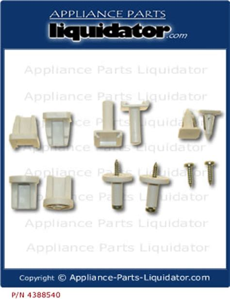 Refrigerator Shelf Support by Pin Refrigerator Parts On