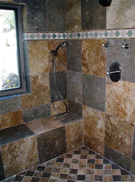 Slate Tile Bathroom Ideas by Jose Diaz Tile Contractors Inc Showers Amp Tubs Slate