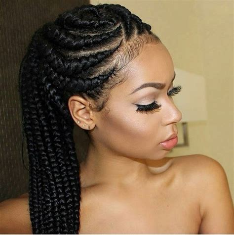 nigeria weaving style picture traditional nigerian hairstyles that are trendy and