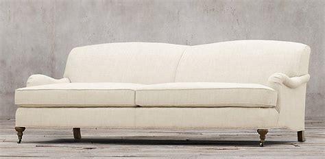 restoration hardware fabric sofas sofas restoration hardware barclay collection 6 lengths