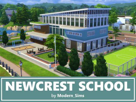 House Building Simulator modern sims newcrest school nocc by modern sims