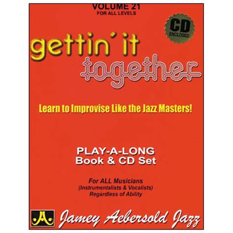 melodic stick books gettin it together play along book and cd melodic