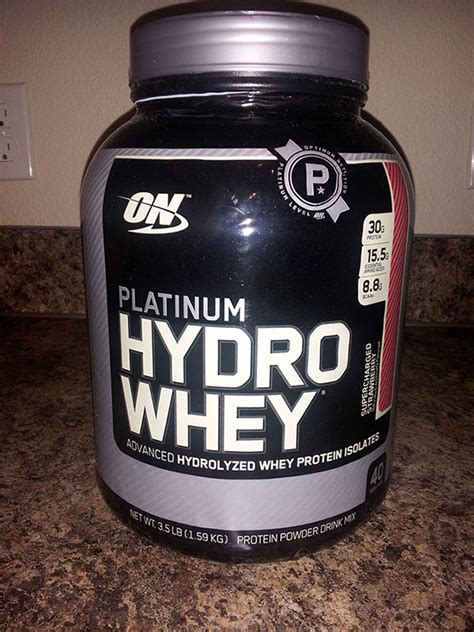 Hydro Whey Protein optimum nutrition platinum hydro whey protein review