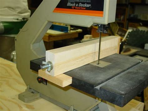 build  bandsaw fence woodworking projects plans