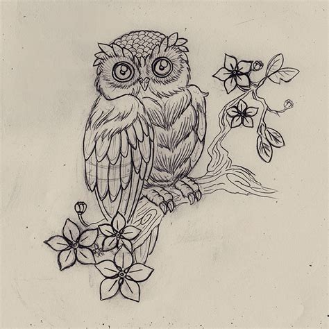 tattoo owl by n 2tt on deviantart