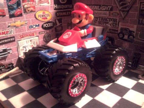 trucks on jam wheels and details about 1969 ford mustang mario kart nintendo and