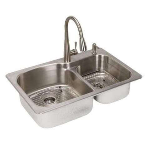 Where Can I Buy A Kitchen Sink Glacier Bay All In One Top Mount Stainless Steel 22 In 2