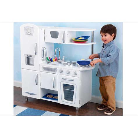 box cuisine enfant cuisine pour enfant en bois vintage blanche de kidkraft