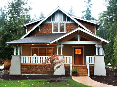 craftsman bungalow cottage house plans craftsman style