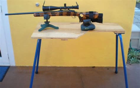 how to make a portable shooting bench build this amazing diy shooting bench that ll aid you in