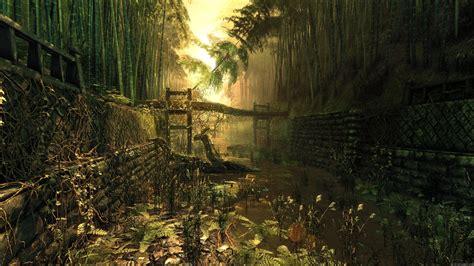 imagenes 3d bosques fondo de pantalla bosque de bamb 250 en 3d my hd wallpapers