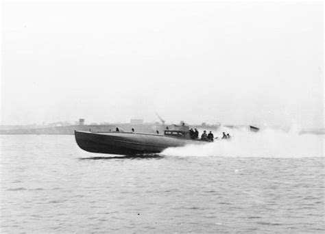 costal motors coastal motor boat at speed fitted with two