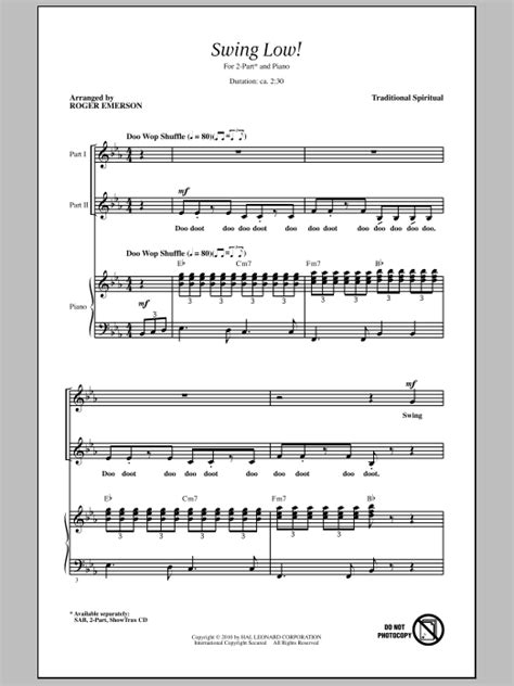 swing low sweet chariot original version swing low sweet chariot sheet music at stanton s sheet