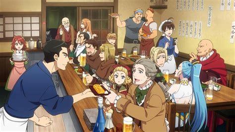 the novel series telling daily business of izakaya japan s izakaya anime series released worldwide
