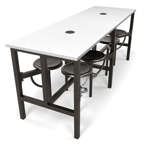 Standing Height Conference Table Ofm Endure Standing Height Table With 8 Seats 9008 Conference Tables Worthington Direct