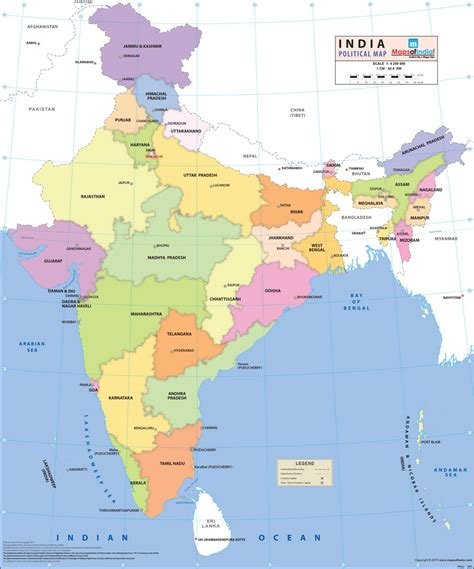 map of india states buy india political synthetic map at low prices on india