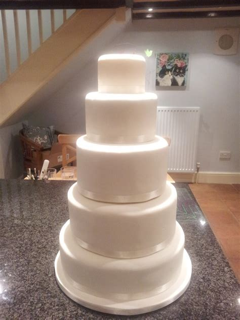 How to make a 5 tier wedding cake   idea in 2017   Bella