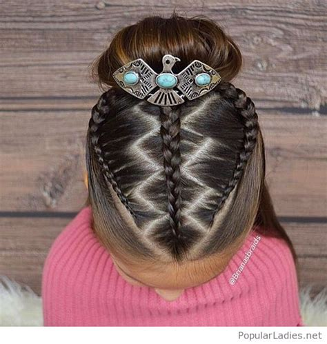 Hairstyles Accessories Bun by Awesome Braids And Bun With A Accessory