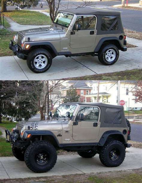 stock jeep vs lifted built a stock 2008 jeep wrangler into a mudder rockcrawler