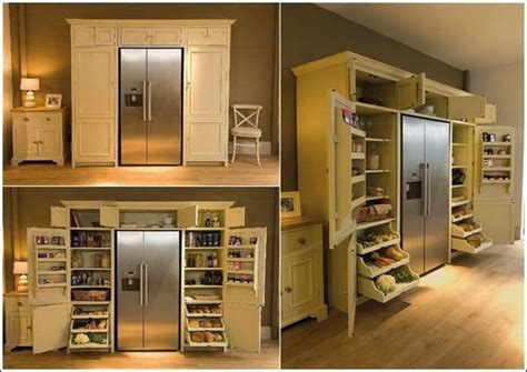 Refrigerated Pantry by 5 Cool And Creative Kitchen Pantry Designs Corner