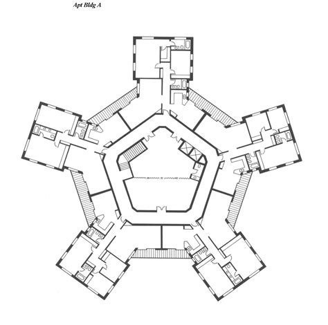 Drawings Of Various Microcommunity Mc Configurations Building Plan Design
