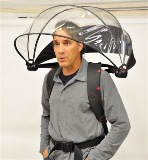 Nubrella Ultimate Weather Protector It Or It by Nubrella Is A Looking Free Umbrella Ohgizmo