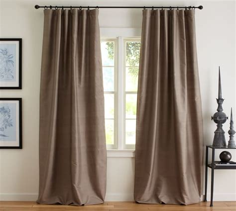 dupioni silk curtains sale pottery barn curtains sale dupioni silk pole pocket drape