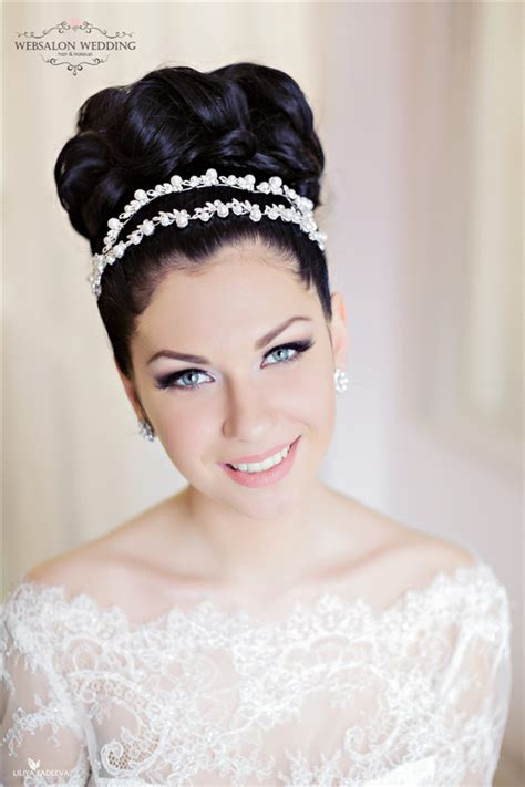 Top Black Wedding Hairstyles by Top 25 Stylish Bridal Wedding Hairstyles For Hair