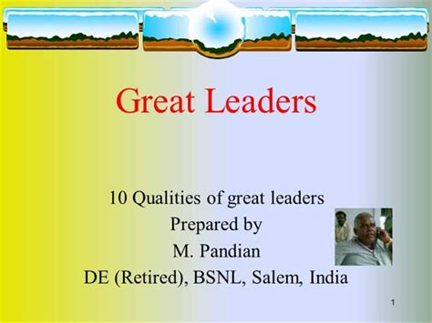 powerpoint templates for leadership presentation 10 qualities of a leader authorstream