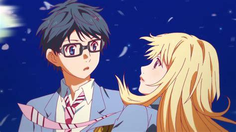 anime girls anime sunset shigatsu wa kimi no uso shigatsu wa kimi no uso anime animeclick it