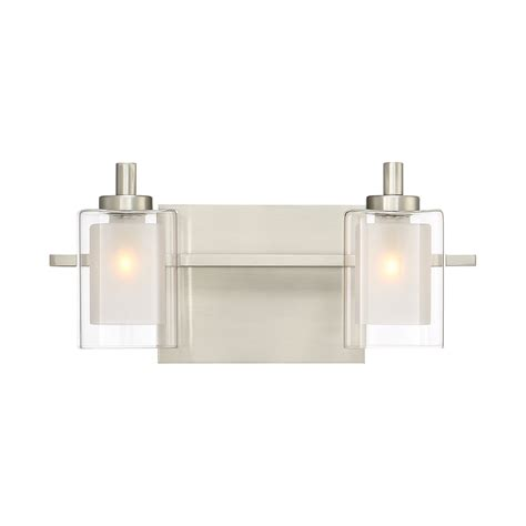 Bathroom Bar Lights - quoizel kolt 2 light bath bar amp reviews wayfair