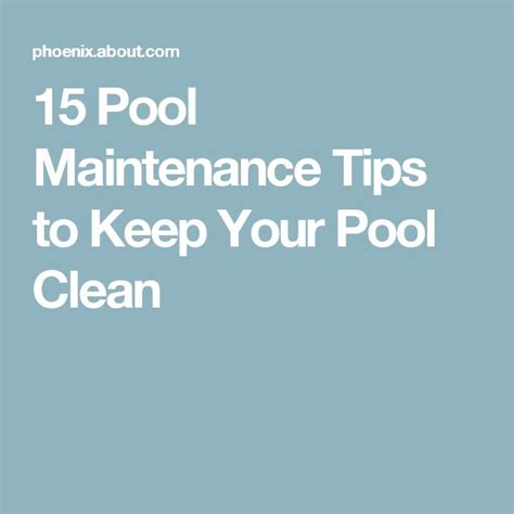 pool maintenance tips 17 best ideas about pool cleaning on pinterest pool