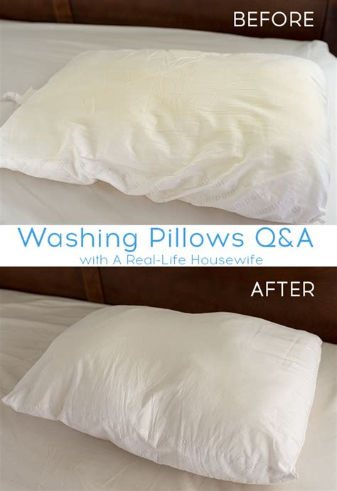 How To Wash Pillows by How To Wash And Whiten Pillows Ask