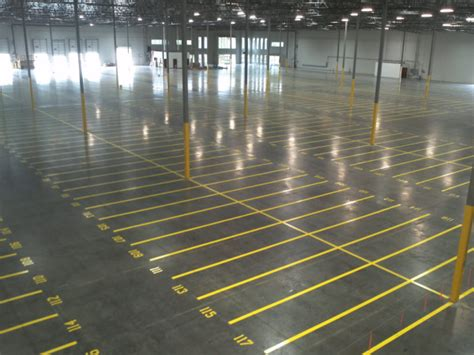 City of Industry Warehouse Floor Striping & Cleaning