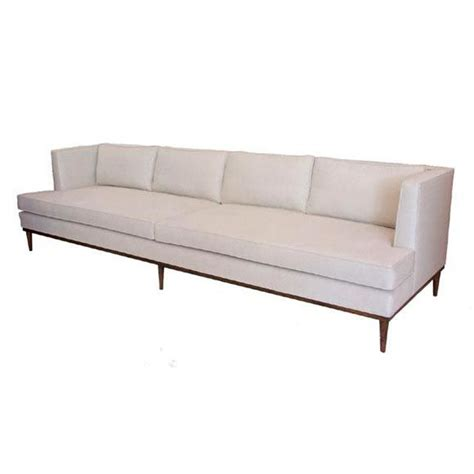 Seat Sofas by Lost City Arts Custom Four Seat Sofa For Sale At 1stdibs