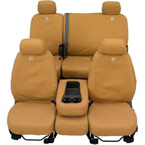 Custom Seat Covers For Trucks Carhartt Custom Duck Weave Seat Covers Covercraft