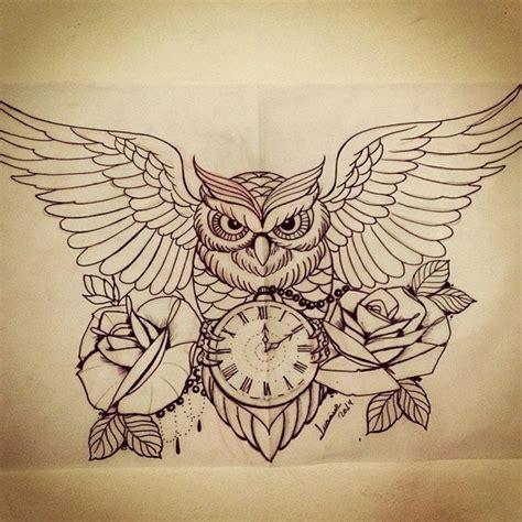 owl tattoo design drawing owl drawing image 1665941 by patrisha on favim com
