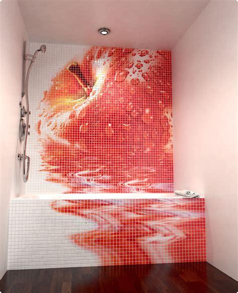 Fruit Flies In Kitchen Wandgestaltung Mit Mosaikfliesen Aus Keramik F 252 R Das